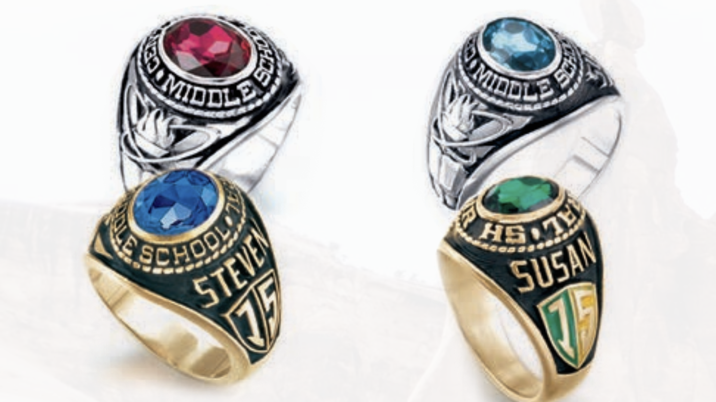 Rhodes Graduation Services middle school ring